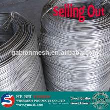 Alambre de acero inoxidable galvanizado caliente de la alta calidad y cuerdas de alambre de acero inoxidable