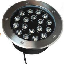 Recessed Inground 15W LED pé luz com chips Epistar