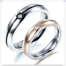 Moda jóias de aço inoxidável anel de dedo da jóia (SR583)