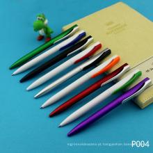 Nova caneta de plástico para estudante