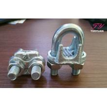 Sujetadores galvanizados de la cuerda de alambre mecanografían clips
