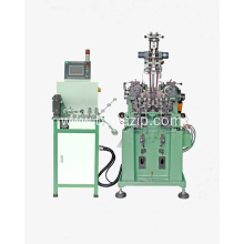 Y-teeth metal zipper making machine