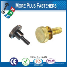 Made in Taiwan Stahl Metall M4 ~ M10 Dekorative Daumen Schraube