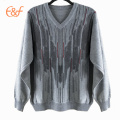 wholesale custom knitted sweaters knitted pullover sweaters girl