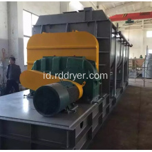 Electroplating Sewage Sludge Hollow Paddle Dryer Mesin Pengeringan Paddle