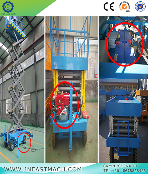 Industrial Lift Platform