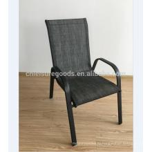 Металлический стальной stackable стул сад