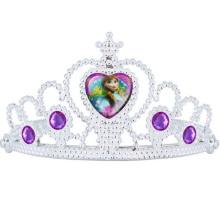 Элегантный Очаровательная Горный Хрусталь Тиара Корона Оголовье