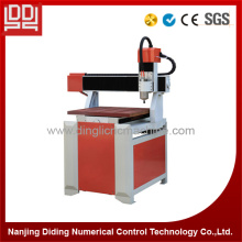 Small Aluminium CNC Metal Engraving Machine 6060 With DSP Handle Control