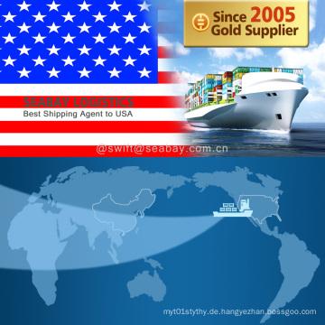 Konkurrenzfähiges Verschiffen nach USA / Los Angeles / Chicago / New York / Miami
