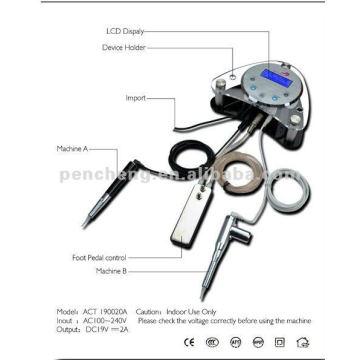 NOUVEAU Ensemble de stylo numérique à maquillage permanent - Système intelligent et système de tatouage
