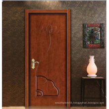 European Classic Art Simple Design Solid Wooden Door