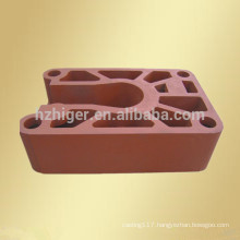 sand casting machine parts/aluminium sand casting/cast aluminum parts