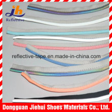 100% poliéster o Tc cinta de Ribetes reflectantes de Color Plata para la ropa