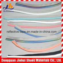 100%Polyester or Tc Silver Color Reflective Piping Tape for Garment