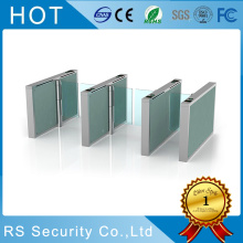 Stainless Steel Bi-Directional Swing Turnstile Gate