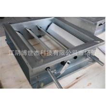 Алюминиевый ротационный заслон для регулировки объема для системы прокатки системы HVAC из Китая Поставщик