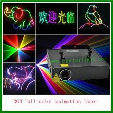 Tốt nhất nhà máy trực tiếp giá 2W RGB Cartoon Laser chiếu