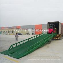 plate-forme de travail portative de rampe de dock hydraulique / appareil de levage