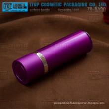 ZB-RA30 inspection de qualité 100 % 30ml de lotion airless pompe emballage cosmétique de doubles couches airless
