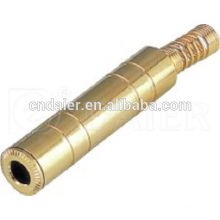 Daier Gold Plated Stereo Connector