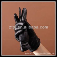 fashion leather glove for ladies and sexy girls