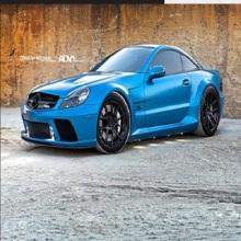 Mercedes-Benz lèvre avant en fibre de carbone avant petit entourant