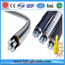 600 Volt Aluminum Alloy Conductor Cross-linked Polyethylene Insulation Mobile Home Feeder Cable