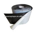 Bitumen rubber based adhesive polyethylene wrap tape for underground pipe