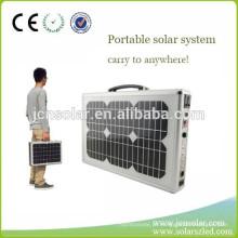 120W gerador solar dobrável para atividades ao ar livre, camping, viagens