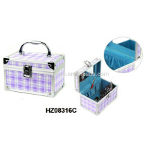 fashionale aluminum beauty case with multi color options