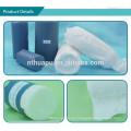 Peso de rollo de algodón absorbente médico según solicitud personalizada