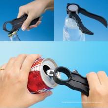 Abridor de botellas de plástico de múltiples funciones
