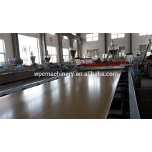 Machine d'extrusion de planche de mousse de wpc / machine d'extrusion de panneau de mousse pvc