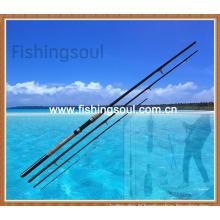 FDR001 Barres de pêche de chargeur de carbone