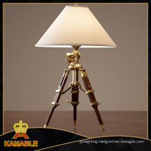 Hotel Beedroom Hand-Cranking Tripod Table Lamp (KA211)