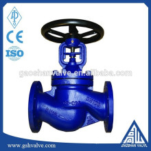 carbon steel bellow seal globe valve