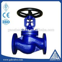 Válvula de globo de vedação de aço carbono