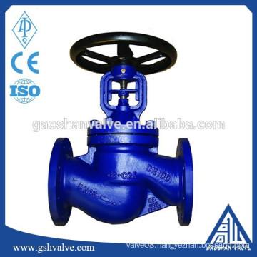 carbon steel bellow seal globe valve