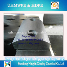 UHMWPE oil Pipe line support and plastic pipe spacers China manufacturer