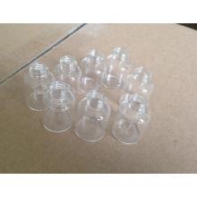 Flacon en verre clair Mini de haute qualité