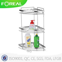 High Quality 3-Tier Bathroom Corner Rack