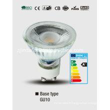Grand verre ampoule LED GU10-Bl