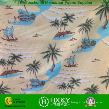 Printed Beach Shorts Fabric 100% Polyester Microfiber Fabric