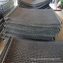 petrochemical industry granary galvanized crimped woven mesh