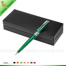 Elegante lápiz de metal de color verde