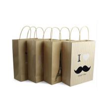 Kraft Bolsas de papel de promoción con diseño personalizado