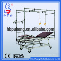 Stainless steel profile steel Bed frame triple-crank orthopedics hospital bed