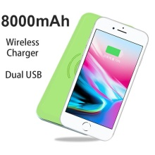 2018 Power Bank draadloze oplader voor iPhone X