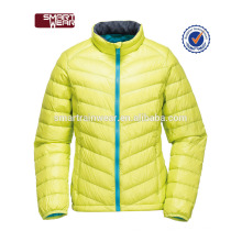 Gros gros blouson en nylon blouson hiver poids léger femme veste de rembourrage